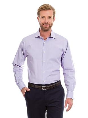 Cortefiel Camisa 1000 Rayas (Violeta)
