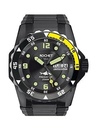 Rochet W504113LE - Reloj de Caballero movimiento de cuarzo con brazalete metálico Negro
