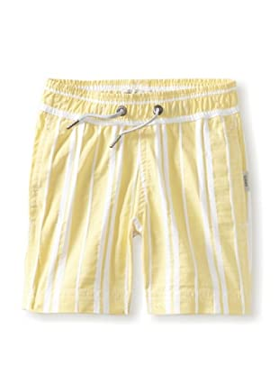 Onia Boy's Charlie Trunks (Yellow/White Stripe)