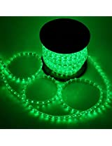 A To Z Traders - 5Meter GREEN LED Flexible Rope Light Kit With Adapter, And (FREE 1 HAND Shape LED Light KEY-CHAIN)