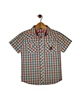 Globe Boys Cotton Shirt Half Sleeve