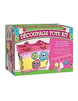Mindware Découpage Tote Kit, Multi Color