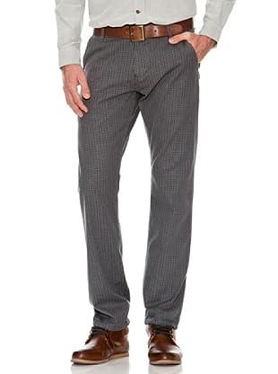 Dockers Pantalón Alpha de Cuadros (gris)