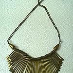 Bronze Brass Brass Fashion Necklace