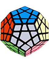 Five Rubik Cube Shaped Megaminx Puzzle Speed Cube Black by Puzzle Cube