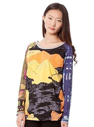 Custo Camiseta Sash (Multicolor)