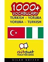 1000+ Turkish-Yoruba Yoruba-Turkish Vocabulary