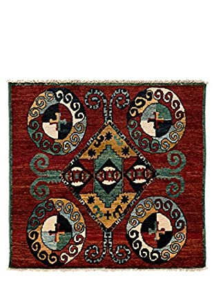 Solo Rugs One-of-a-Kind Tribal Rug, Red, 5' x 5' 5