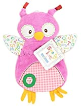 "Kids Preferred Smarty Kids Comfort Cuddly Blanky, ""O"" Is For Owl By Kids Preferred"