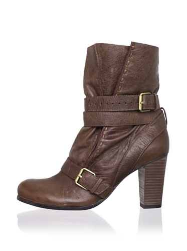 Rosegold Women's Wilma Ankle Boot (Cigar)