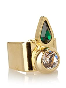 Lionette Designs by Noa Sade Emerald Green Ashley Tribal Ring