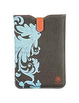 Allsop 30798 Gaiam Simple Sleeve for iPad mini, Summer Garden, Blue