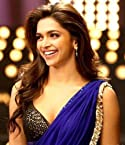 Deepika Bollywood Replica Blue Chiffon Designer Saree