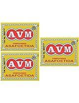 AVM Compounded Asafoetida Cake, 25 grams (Pack of 3)