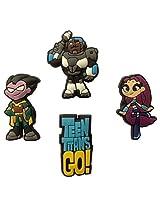 Teen Titans Fridge Magnets 4 Pcs Set #1