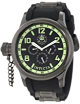 Invicta Russian Diver Analog Black Dial Men's Watch - 1805