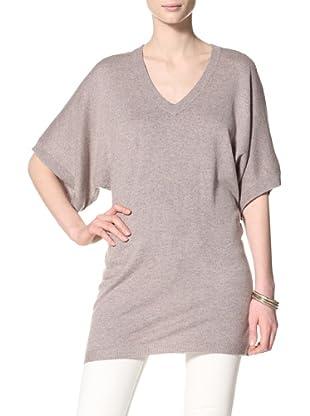 Acrobat Women's V-Neck Dolman Sleeve Sweater (Barley)