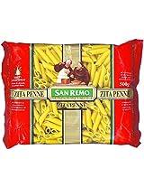 San Remo Zita Penne, Durum Wheat Pasta, 500gm