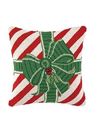 Peking Handicraft Green Bow Present, Red/Green