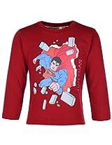 Cucumber Full Sleeve T-Shirt - Superman Print