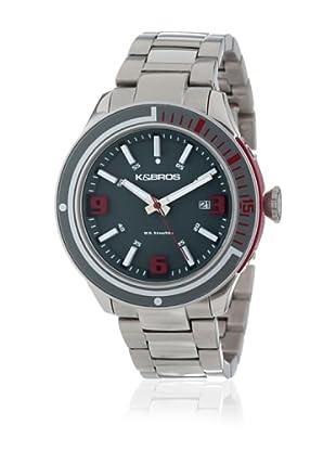 K&BROS Reloj 9488 (Gris)