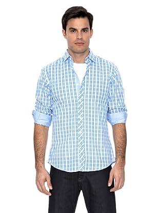 Springfield Camisa Cuadros (Azul)