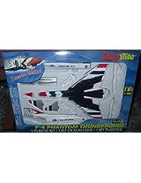 #1384 Revell Snap Tite F 4 Phantom Thunderbird 1/100 Scale Plastic Model Kit,Needs Assembly