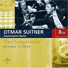 輸入盤 スウィトナー指揮/シュターツカペレ・ベルリン ブラームス&ドヴォルザーク:交響曲全集(8枚組)のAmazonの商品頁を開く