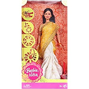 Barbie Doll in Saree