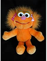 "1995 Sesame Street Plush 9"" Zoe"