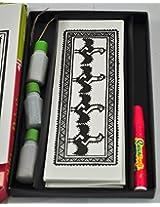 chittara painting folk art of karnataka sand painting educational activity kit