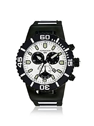 Torgoen Men's T24307 Black/White Watch