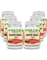 Morpheme Grape Seed Extract 500mg Extract 60 Veg Capsules - Buy 3 Get 6