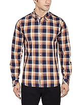 United Colors of Benetton Men's Casual Shirt (8903975077409_15A5AC97U008I901EL_XX-Large_Multicolor)