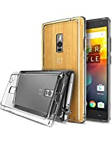 OnePlus 2 Case - Ringke FUSION Case***All New Dust Free Cap & Drop Protection*** [FREE Screen Protector][CRYSTAL VIEW] Premium Crystal Clear Back Shock Absorption Bumper Hard Case with Free HD Screen Film for OnePlus 2 / Two