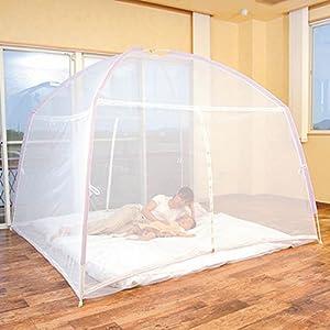 組立式蚊帳  窓を開けたまま虫を気にせずにお休みいただけます