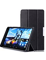 ProElite Ultra sleek Flip Case Cover for Dell Venue 8 7000 series 7840 Tablet (Black) (Magnetic Lock)