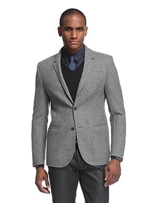 Calvin Klein Collection Men's Doubleface Wool Jacket (Grey)