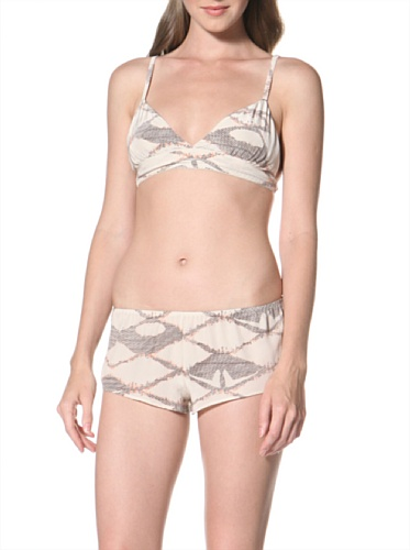 La Fee Verte Women's Silk Short (Labryinth)