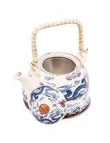 Mad over Kettles: Ceramic Blue Dragon Teapot