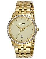 Citizen Analog Gold Dial Men's Watch - BI5032-56P