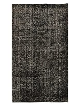 eCarpet Gallery One-of-a-Kind Hand-Knotted Anatolian Rug, Black, 3' 9