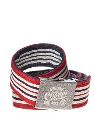 Springfield Cinturón List Rojas Chapón (rojo / raya diplomatica)