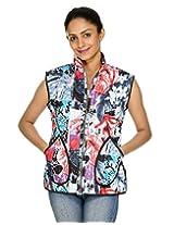 Indian Handmade Printed Reversible Women's Jacket