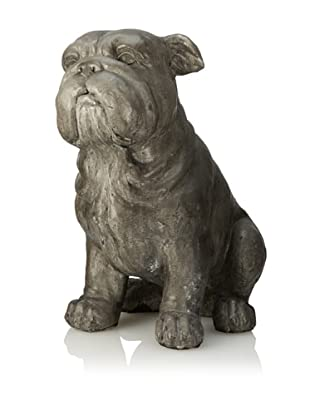 Sitting Dog, Gray