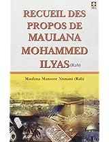 Recueil Des Propos De Maulanan IIyas