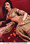Bollywood Replica Deepika Padukone Net and Banarasi Lehenga In Gold and Maroon Colour NC859