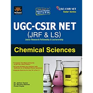 UGC-CSIR NET (JRF & LS) Chemical Science (Old Edition)