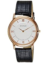 Titan Orion Analog White Dial Men's Watch - NC1488WL01