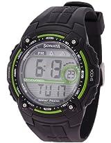 Sonata Ocean Series Digital Multi-Colour Dial Men's Watch NF7990PP01J